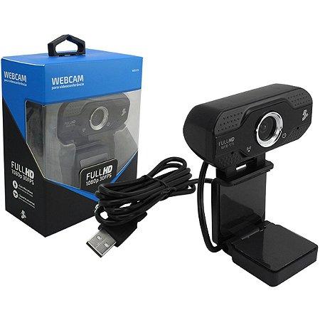 Webcam Full Hd 1080P 30Fps Santana Centro