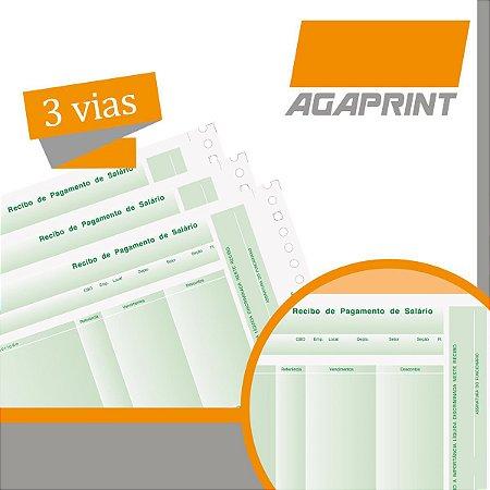 Formulario Continuo Impresso Auto.lab-04 3 Vias C/bloqueio Agaprint