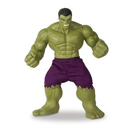 Boneco E Personagem Hulk Verde Revolution 50Cm. Mimo