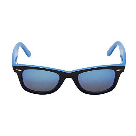 Óculos De Sol Party Azul Preto Di Fiori 23574
