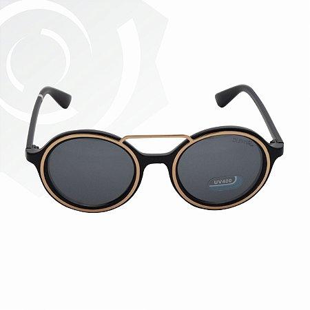 Óculos De Sol Dory Preto Di Fiori 2380