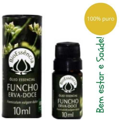 Óleo Essencial Bioessência - FUNCHO/ERVA DOCE (Foeniculum vulgare dulce) - 10 ml