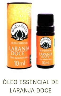 Óleo Essencial Bioessência - LARANJA DOCE (Citrus aurantium dulcis) - 10 ml
