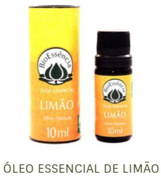 Óleo Essencial Bioessência - LIMÃO SICILIANO (Citrus limonum) - 10 ml