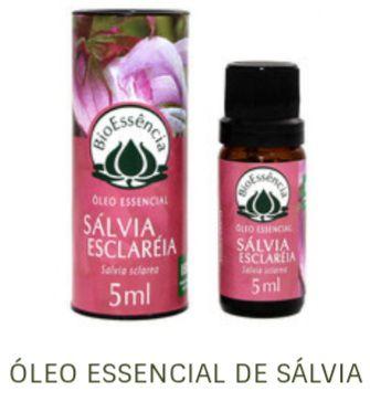 Óleo Essencial Bioessência - SÁLVIA  (Salvia sclareia) - 5 ml