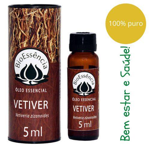 Óleo Essencial Bioessência - VETIVER (Vetiveria zizanoides) - 5 ml