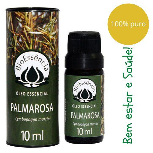 Óleo Essencial Bioessência - PALMAROSA  (Cymbopogon martini) - 10 ml
