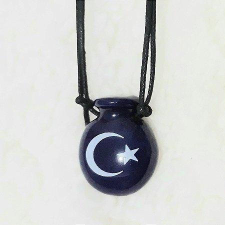 Aromatizador Pessoal Coleção Islamismo - Símbolo Sagrado LUA E ESTRELA - Modelo CANTIL