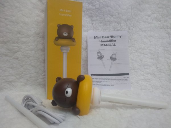 Umidificador de Ar Ursinho   - USB Bivolt