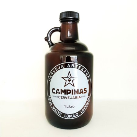 Growler para Cerveja Artesanal - Vidro 1 Litro