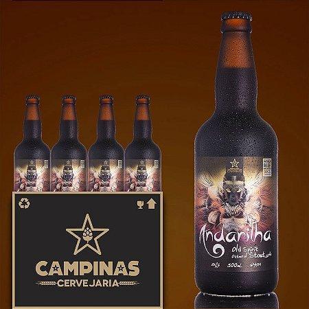 Caixa Fechada com 12 unid. da CAMPINAS Andarilha - English Oatmeal Stout - 500ml