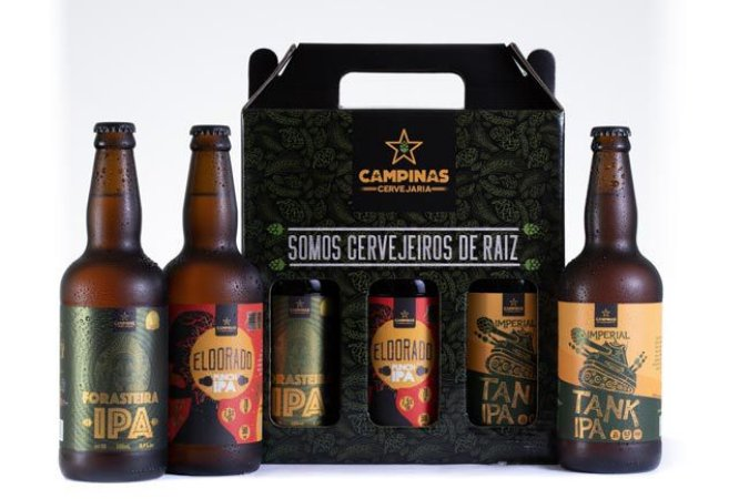 "KIT ""IBU"" de Cerveja Artesanal - KIT com 3 IPAs de 500ml"