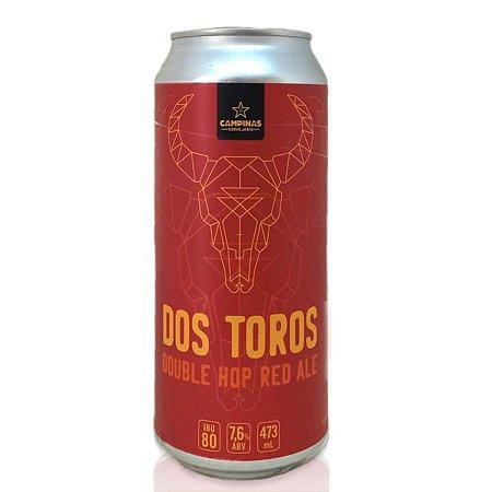 CAMPINAS Dos Toros - Double HOP Red Ale - 473ml