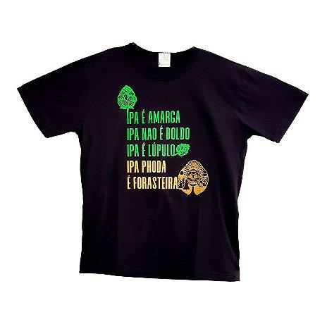 Camiseta Masculina Cervejaria CAMPINAS - Forasteira IPA PHODA