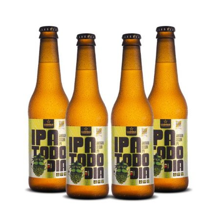 Kit de cerveja artesanal 4Pack CAMPINAS IPA Todo Dia - Session Ipa - 355ml