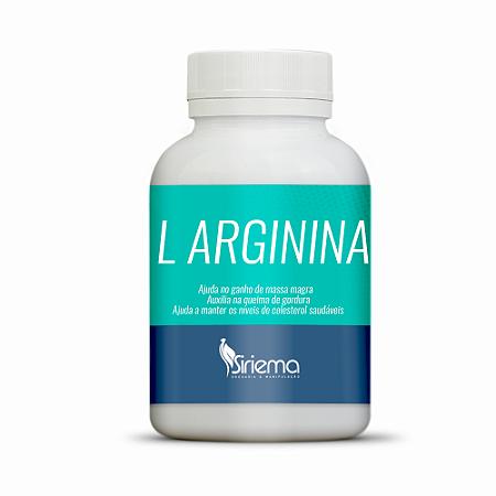 L Arginina 500mg 60 caps
