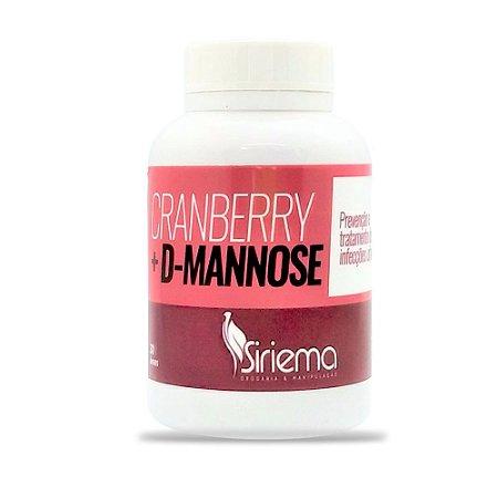 Cranberry + D-Manose+ Vitamina C 30 caps