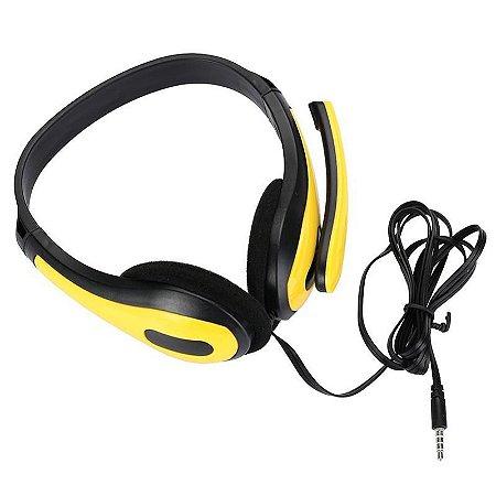Headphone Stereo Gamer Com Microfone Para PC