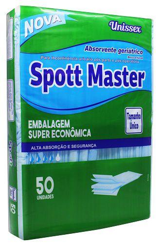 Absorvente Geriátrico Spott Master c/50 unidades