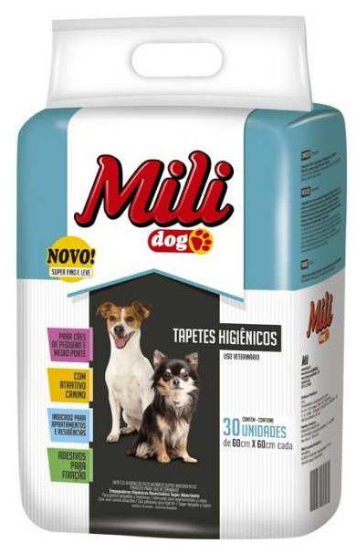 Tapete Higiênico Mile Dog c/ 30 unidades