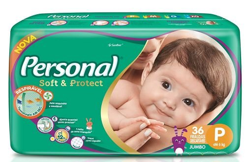 FRALDA INFANTIL PERSONAL SOFT PROTECT