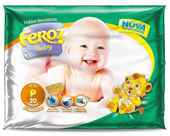 Fralda Infantil Feroz Jumbinho Noturna