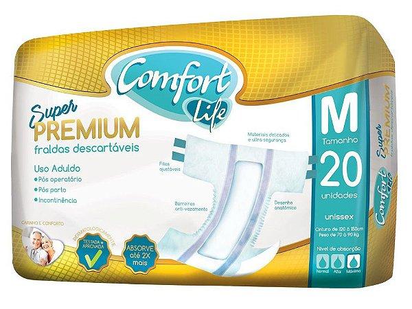 Fralda Geriátrica  Comfort Life Super Premium