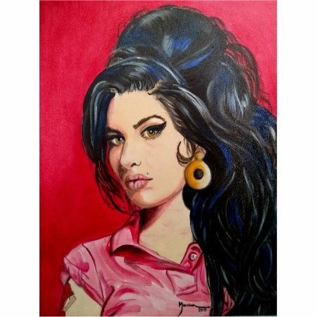MARINA ALVES - Amy Winehouse - AST - 30 X 40