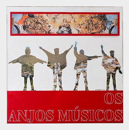 "DEMOGOLET ""ANJOS MÚSICOS III"" RELEITURA - ATAÍDE 50 x 60 (OST)"