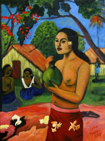 LÉLIA PARREIRA DUARTE - HAITIANA 60 X 80 (AST)