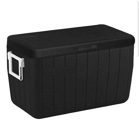 Caixa Térmica 48Qt 45,5 Litros Black - Coleman