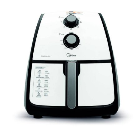 Fritadeira Sem Óleo 4L Branca 220V - Midea