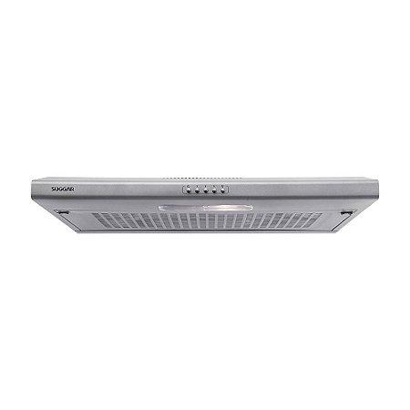 Depurador De Ar Slim 60 Cm Prata C/ Manta 127V - Di601Pr - Suggar