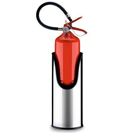 Suporte Redondo Para Extintor De Incêndio - Brinox