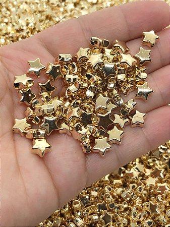 Estrelinha Dourada ABS - Pacote 20 gramas