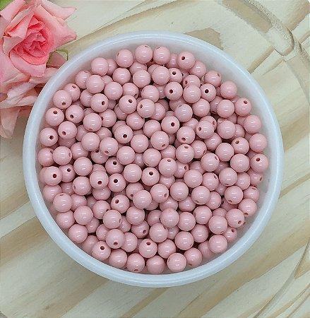 Bolinha Leitosa - Rosê Suave - 8mm - Pacote 30 gramas