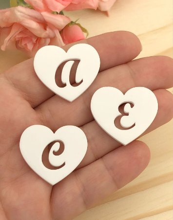 Aplique Acrílico - Letras do Alfabeto - Unidade