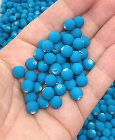 Bolinha Fosca - Azul - 8mm - 30 gramas