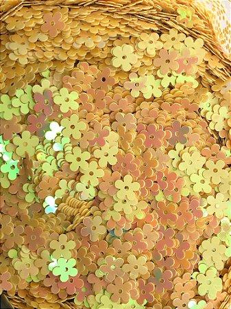 Micro-Apliques - Florzinha Amarela - Pacote com 10 gramas.