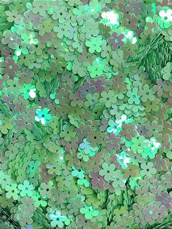 Micro-Apliques - Florzinha Verde - Pacote 10 gramas