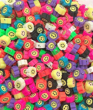Florzinhas Coloridas para Pulseira - 30 unidades