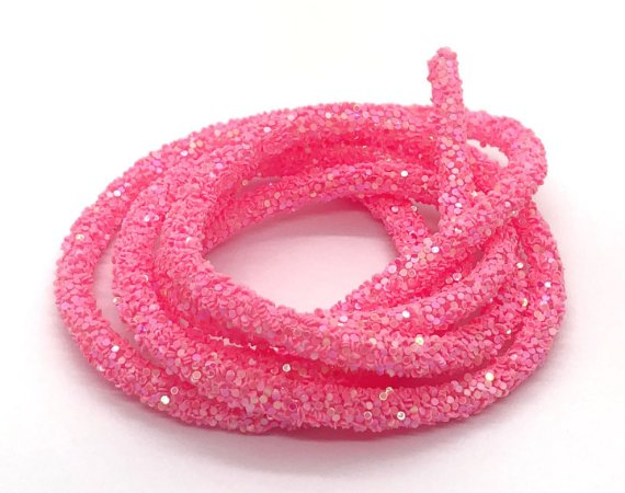Tubo de Confete - Rosa Chiclete - Metro