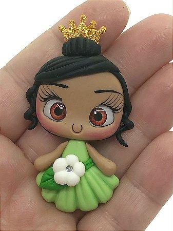 Aplique de Biscuit - Tiana (Princesa e o Sapo) - Unidade