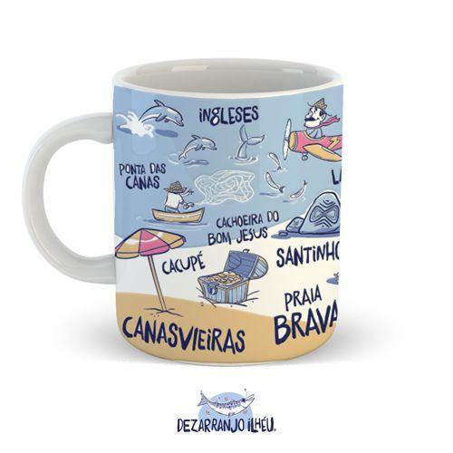 Caneca Praias - 270ml