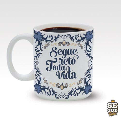 Caneca SR - Segue Reto Toda Vida 270ml
