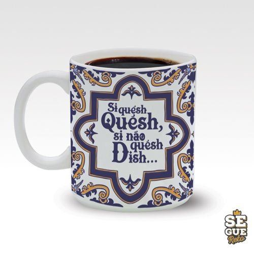 Caneca SR - Si Quesh, Quesh 270ml