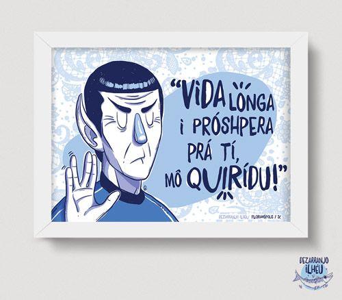 Quadrinho Spock