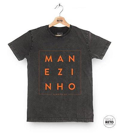 Camiseta Marmorizada - Manezinho