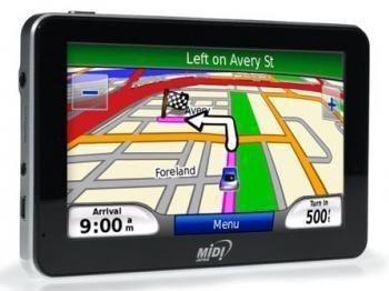 Atualização GPS Midi