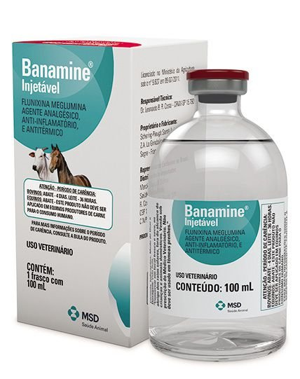 Banamine Injetável - MSD Saúde Animal